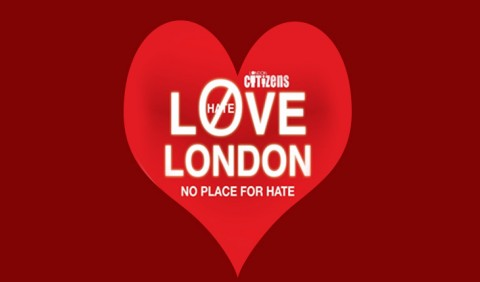 Love London, No place to hate